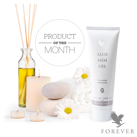 Forever Aloe MSM Gel - Månadens produkt mars 2017 -+- Salve