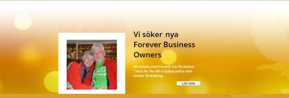 Forever Arbeta med oss - Forevers affärsmöjlighet orange